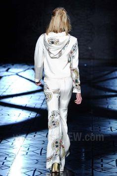 Sao Paolo Fashion Week. Animale Fall Winter 2014. Wonderful textures along intricate prints.
