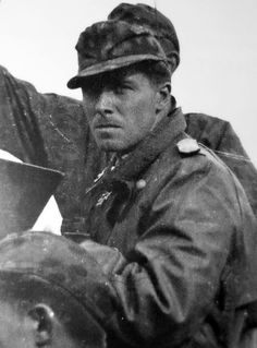 """thedevilsguard: """" At 29 years of age at the end of 1944, Peiper was the archetypal Waffen-SS officer. He rose to the top after a series of stunning battlefield performances on the Eastern Front, where..."""