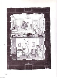 Charles Addams Original Addams Family, Addams Family Cartoon, Addams Family Quotes, Vintage Cartoon, Cartoon Art, Los Addams, Charles Addams, Comic Panels, Creature Comforts
