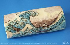 Incredibly-detailed Japanese Wave Cake Roll