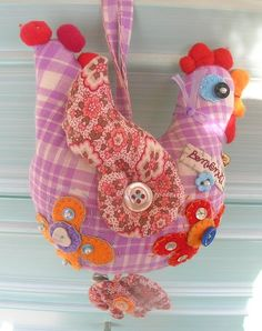 I think I could use up some old lace making chickens.