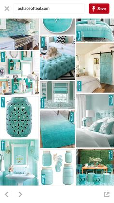 Creating a Tropical Bathroom on a Budget Azul Tiffany, Beach Room, Coastal Bedrooms, Beach Cottage Decor, Home And Deco, Florida Home, White Decor, Home Staging, Room Colors