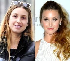 like her makeup look. need to learn contouring! and eyeshadow. i only ever put one color on bc its all i know how to do. Stars Without Makeup: Whitney Port