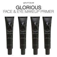 Nuestra base para rostro y ojos Glorious crea un lienzo impecable, ya que mejora la textura de la piel y la prepara para una aplicación perfecta del maquillaje mineral. El resultado es una piel perfecta, suave y aterciopelada, con un aspecto increíble y de larga duración, a prueba de sudor para que el maquillaje mineral te dure todo el día.