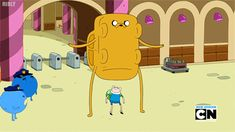 Hilarious Adventure Time GIF.  This is one of the funniest episodes.