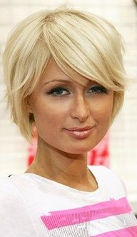 This short hairstyle is a little tempting, but I don't think I'm brave enough to ge through with it!