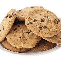Giant Chocolate Chip Cookies - Crisp, chewy and packed with chips, these are the ultimate cookies.