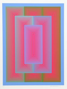 Richard Anuszkiewicz, Sequential VII from the : Lot 95