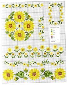 Flowery borders
