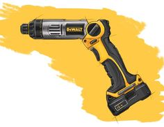 Want to know about cordless drills gears? Read on! Photoshop Rendering, Conceptual Drawing, Plastic Moulding, Industrial Design Sketch, Porsche Design, Cool Sketches, Sketch Design, Cool Tools, Picture Design