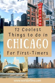Is it your first time in the Windy City? Find out the coolest things to do in Chicago for first-timers. All these activities will guarantee you an unforgettable time! #chicago #illinois #usa #usatravel #windycity   what to do in Chicago   places to see in Chicago