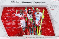 SL 1.Henrik Kristoffersen 2.Marcel Hirscher 3.Daniel YULE Sl 1, Yule, Ski Racing, Freestyle, Skiing, Video Game, Photos, Games, Ski