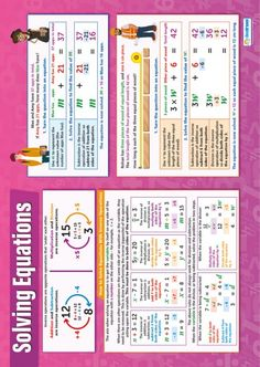 Solving Equations Poster