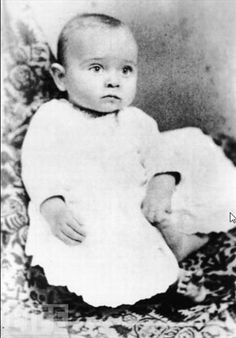 Harry Truman, 6 months old