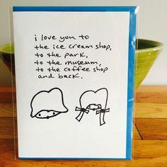 i love you... #love #iloveyou #greetingcard #relationships #handmade #cute