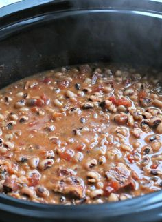 New Year's Day Black-Eyed Peas - The Magical Slow Cooker