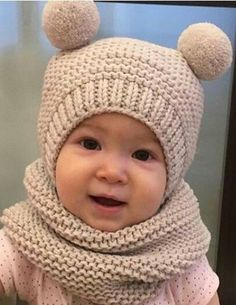 Knitted Hats Kids Knitted Baby Clothes Baby Hats Knitting Sweater Knitting Patterns Knitting For Kids Loom Knitting Knitting Stitches Knitting Videos Loom Hats Baby Hat Knitting Pattern, Baby Hats Knitting, Knitting For Kids, Easy Knitting, Knitting Toys, Crochet Jacket, Crochet Beanie, Crochet Baby, Crochet Gifts