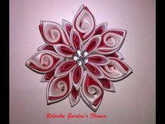 #19 - Flor de Cetim. DIY - Satin Flower/Fiore di Raso /kanzashi /Satin-Blume/サテン花 - YouTube