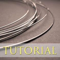 Softening Sterling Silver Wire | JewelryLessons.com free #tutorial #wirework #SterlingSilverWire