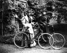 Violet Ward and Daisy Elliott - June 23, 1895