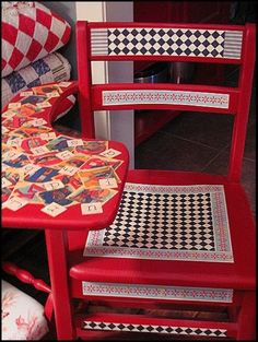 Do you have any furniture or accessories that needs a lift? Have you considered decoupage? Decoupage is such an easy diy project that helps . Decoupage Desk, Decopage Furniture, Refurbished Furniture, Repurposed Furniture, Kids Furniture, Furniture Makeover, Painted Furniture, Furniture Design, Furniture Care