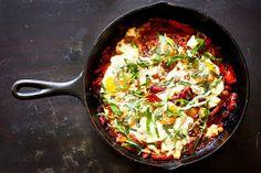 Feasting at Home: Shakshuka- North African Skillet Eggs