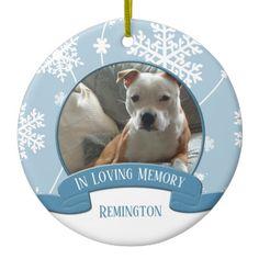 #heartornaments #inlovingmemory #petmemorial #petphotoornament #christmasornaments