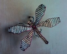 Dragon-fly in beads by LHH