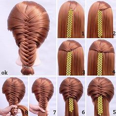 Shells 2Pack Yellow Color Sport Braider Hairstyling Tool French Hair Braiding Tool With Instruction