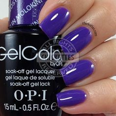OPI GelColor Hawaii Collection - Lost My Bikini in Molokini - Chickettes.com