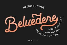 🌟 New From Free Design Resources: Belvedere Font Duo Demo, Articles Modern Minimal Presentations and More! Glyph Font, Best Free Fonts, Vintage Fonts, Typography Fonts, Line Design, Presentation, Mice, Minimal, Articles