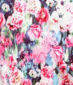 H&M blurred floral