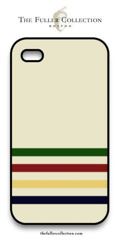 Hudson Bay blanket - iPhone cover - how marvelous! – The Fuller Collection