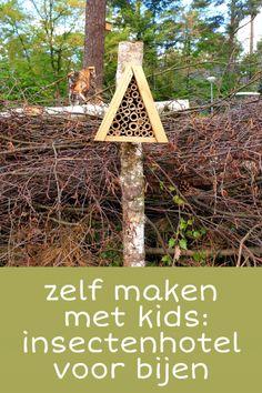 Zelf maken met kinderen: een insectenhotel voor bijen in de tuin #leukmetkids #knutselen #natuur Bug Hotel, Insect Hotel, Diy For Kids, Crafts For Kids, Arts And Crafts, Photosynthesis, Fruit Garden, Outdoor Structures, School