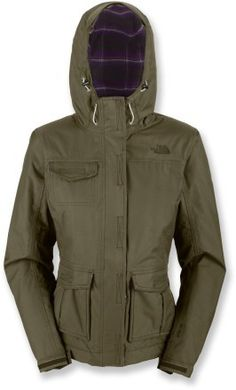 Shed rain and stay warm with the lightweight and lightly insulated Winter Solstice jacket from The North Face. North Face Rain Jacket, Military Jacket, Military Style, Winter Solstice, Military Fashion, Vest Jacket, Autumn Winter Fashion, The North Face, Jackets For Women