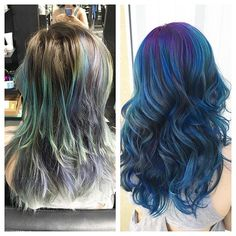 ✨Mermaid Makeover✨  #houseofcolor #colorado #denver #coloradosprings #coloradosalon #coloradospringssalon #coloradohairstylist #coloradospringshairstylist #modernsalon #americansalon #behindthechair #hotonbeauty #hair #hairstylist #hairinspiration #hairgoals #licensedtocreate #mermaidians #mermaidhair #vividhair #joico #btconeshot_transformations16 #btconeshot_color16 #btconeshot_hairpaint16 #btconeshot_ombre16 #balayage #bluehair #purplehair #makeover #transformation