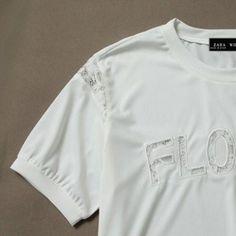 Materiais : T-shirt - Algodão + saia jeans de algodão washed com apliques. Tamanho M Marca: Zara