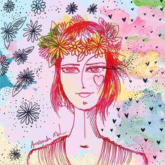 """Amanda Mol -  """"Flores em meu cabelo"""""""