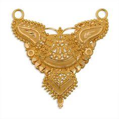 22K Pendant Gross Wt. : 07.360 gm Net Wt. : 07.360 gm Metal : 22K Real Gold Jewelry, Gold Wedding Jewelry, Gold Jewelry Simple, Bridal Jewelry, Beaded Jewelry, Gold Mangalsutra Designs, Gold Earrings Designs, Gold Jewellery Design, Gold Bridal Earrings