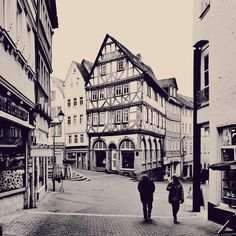 """""""My dear friends! Now you are looking through the window into the past! I am standing exactly in the same place in the picturesque town of Wetzlar, where…"""""""