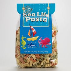 One of my favorite discoveries at WorldMarket.com: World Market® Kids' Sea Life Pasta octonauts party 6th bday