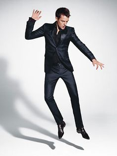 BRANDON FLOWERS  That is the sexiest suit I have ever seen in my stupid life!!!