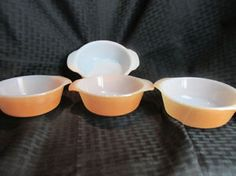 Vintage Peach Luster Fire King Lot!