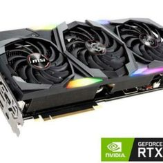MSI Video G208TGXT GeForce RTX 2080 TI GAMING X TRIO Graphic Card 11GB Ti new Gaming, Cards, Ebay, Videogames, Game, Maps, Playing Cards