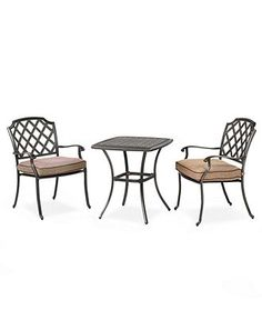 Grove Hill Outdoor Patio Furniture Balcony Dining Sets