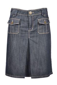#Escada #denim #skirt #fashion #designer #accessories #clothes #vintage #onlineshop #secondhand #classy #mymint