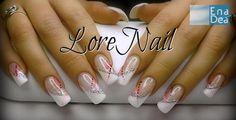 """Una nail Art semplice e romantica... il """"soffio rosa""""  di LoreNail! http://www.decorazioneunghie.com/photo/gallery/Soffio-rosa"""