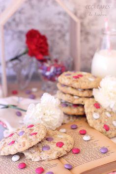 Cookies de Avena, Cacahuete y M&M's