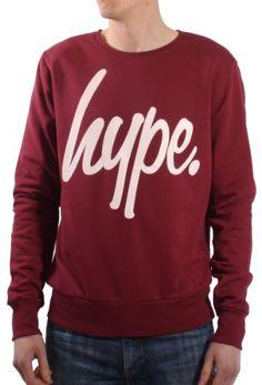 Hype Script Logo Crew Neck Sweatshirt - Various Colours & Sizes Crew Neck Sweatshirt, Graphic Sweatshirt, T Shirt, Hype Clothing, Script Logo, Bomber Jacket Men, Fashion Deals, Blazers For Men, Logos
