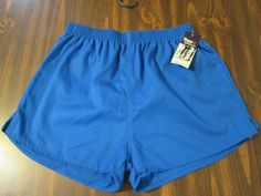 TRAX Vintage Running Sprinter Gym Sport Hi Cut Size LARGE MADE IN THE USA #TRAX #Shorts